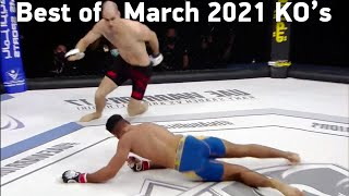 MMA's Best Knockouts of the March 2021 | Part 2, HD