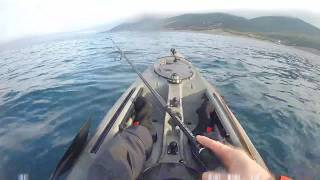Рыбалка на каяке в черном море Kayak fishing Black Sea