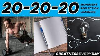 The 20/20/20 Method