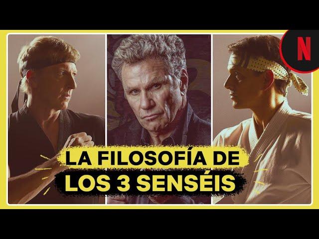 Cobra Kai | La filosofía de los 3 senseis | Netflix