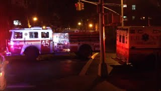 """""""FDNY"""" """"On Scene"""" of An """"All Hands"""" On Manor Ave Bronx Box 3010"""