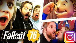 GRONKH, PAN UND CURRY IN AMERIKA! 👪 Fallout 76 (Instagram Storys/Gronkhstagram 📷 September 2018)