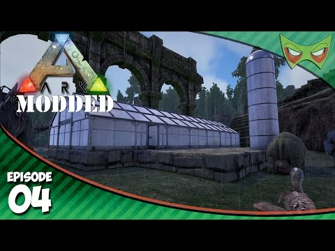 Ark Modded - Ep 04 - Magical Crops! - Ark Modded Let's Play