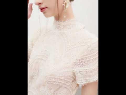 vintage-/-retro-champagne-wedding-dresses-2019