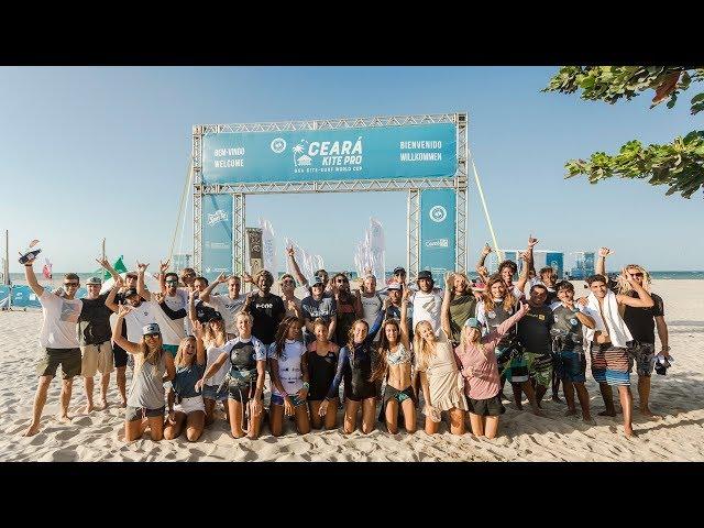 REGISTRATION & WARM-UP  | strapless freestyle kitesurfing action | GKA Kite-Surf World Cup Prea 2019