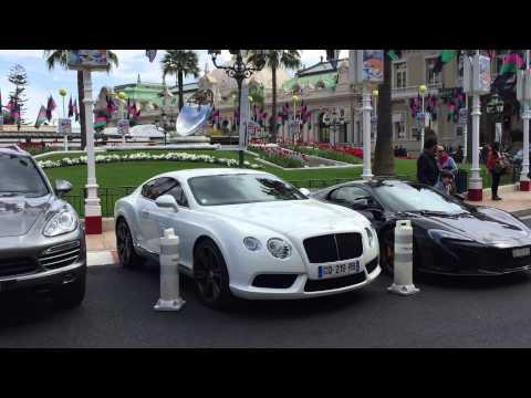 Hotel de Paris casino square Monaco Car Park