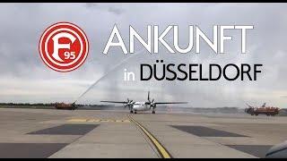 Fortuna Düsseldorf - Ankunft in Düsseldorf