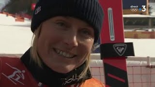 JO 2018 : Ski alpin - Géant Femmes. Tessa Worley a tout tenté