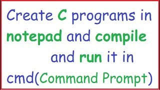 how to Compile and Run C program Using GCC on Ubuntu 18.04 LTS (Linux)