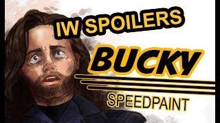 Bucky (IW Spoilers) | Speedpaint