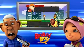 BoBoi Boy (Hindi) - The Video Game Trouble | Fun Kid Videos | Cartoon for Kids in Hindi