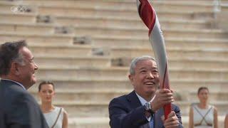 GLOBALink | Greece hands over Olympic flame to Beijing 2022 organizers