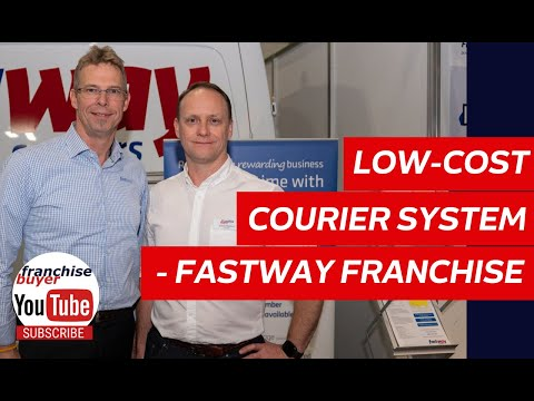 Low cost courier system - fastway franchise