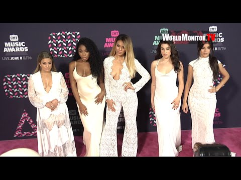 'Fifth Harmony' Too Hot! for 2016 CMT Music Awards Pink carpet