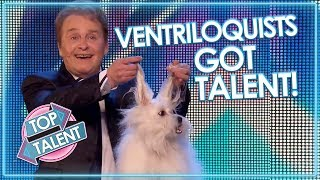 AMAZING VENTRILOQUISTS AND PUPPETS On Got Talent! Part One | Top Talent