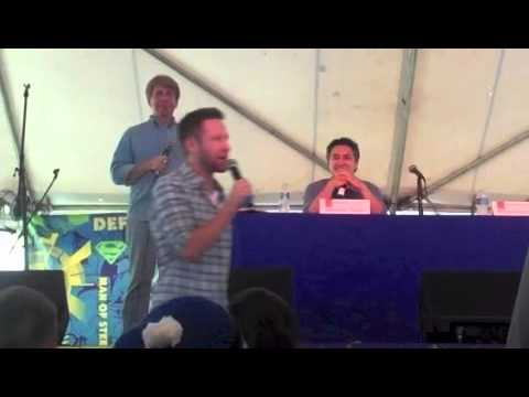 Superman Celebration - Q & A Session with Michael Rosenbaum and Alessandro Juliani