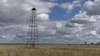 Dusty Reins: The Last Oil Derrick At Kellerville, Texas
