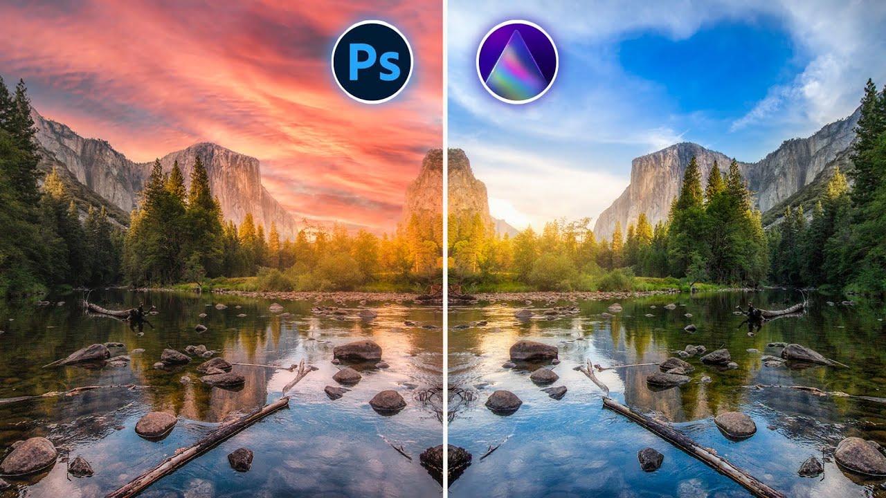 COMO TROCAR O CÉU DA FOTO | Photoshop 🤜💥 🤛 Luminar
