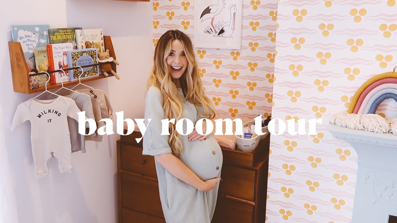 Decorating The Baby's Room & Finished Tour