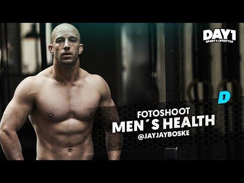 """Een droom die uitkomt"" Covershoot Men's Health X JayJay Boske"