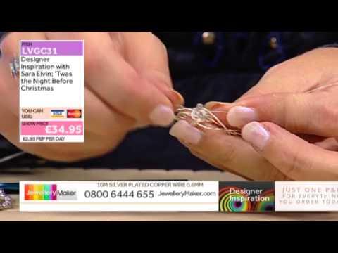 [How to make Christmas Jewellery] - JewelleryMaker DI 22/11/14