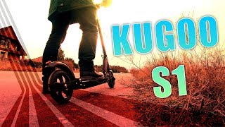 KUGOO S1 🛴 300€ E-Scooter für 30km/h? [Review, Technik, German, Deutsch]