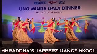 Dola Re | Jay Ho | Bengali Dance | Colors of India | easy steps | Shraddha's Tapperz Dance Skool
