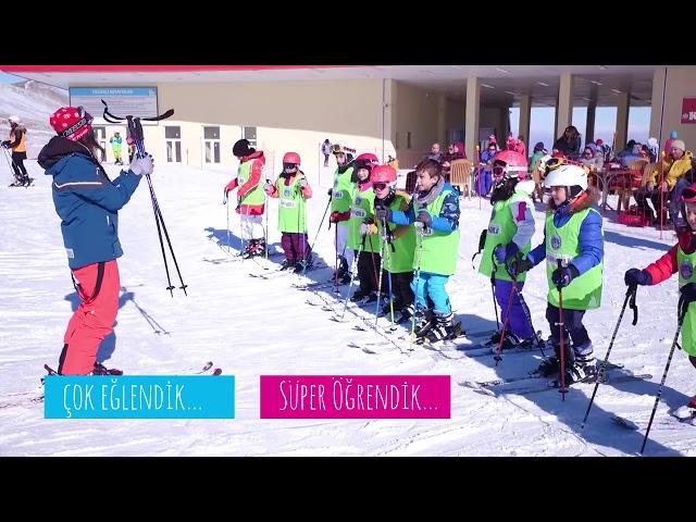 Çocuklarımız Hem Kayakçı Hem Erciyesli