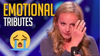 12 EMOTIONAL Tributes to Lost Loved Ones That Stole the Judges' Hearts on Talent Shows