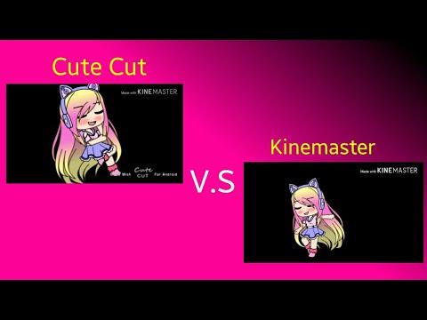 Cute Cut V.S Kinemaster (Gacha editing){ORIGINAL}[Read pinned comment]Fantasize meme{OLD}