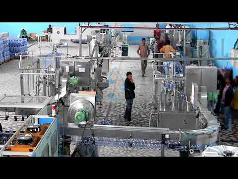 Fully Automatic Bottled Water Project
