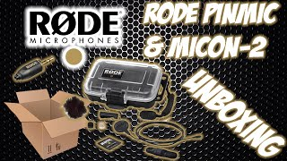Rode PinMic & MiCon-2 Unboxing!!!
