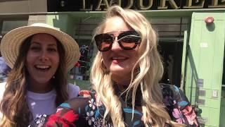 Jac & Vee From NYC explore Laduree Soho