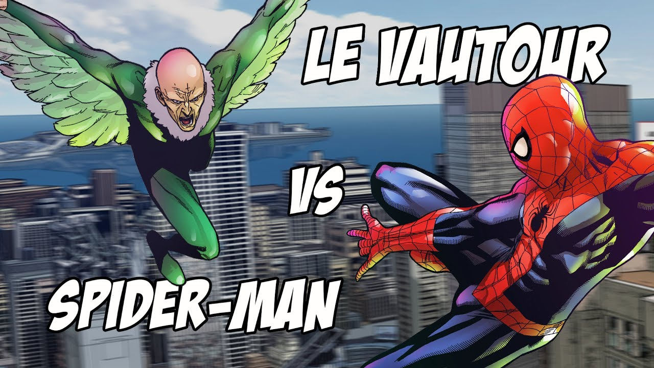 MARVEL HOUSE - LE VAUTOUR VS SPIDER-MAN