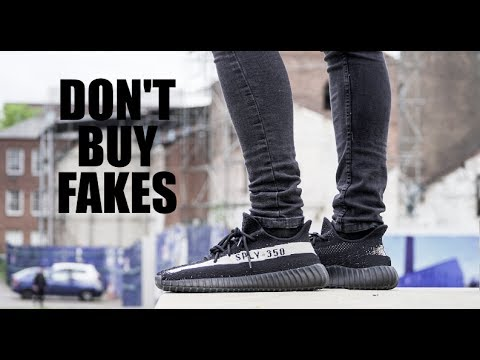 f20ed4e77 WHY YOU SHOULDN T BUY FAKE YEEZYS - YouTube