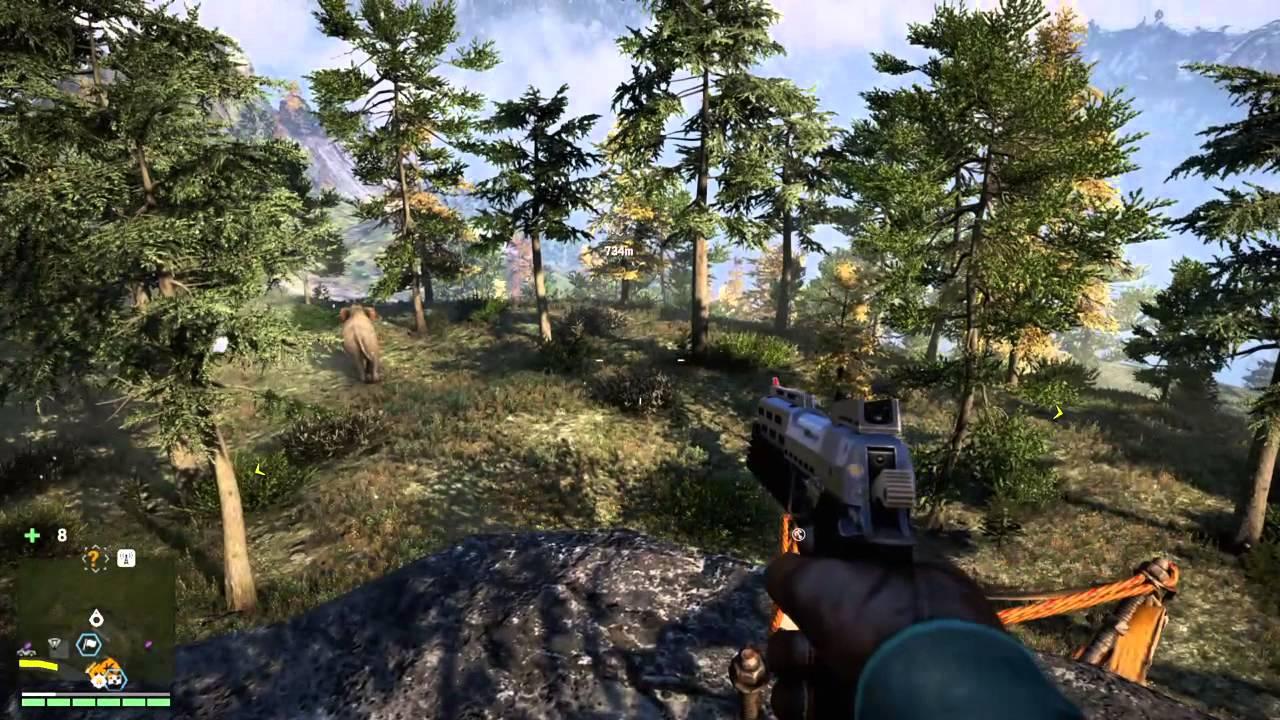 Far Cry 4 Bizon Glitch Youtube