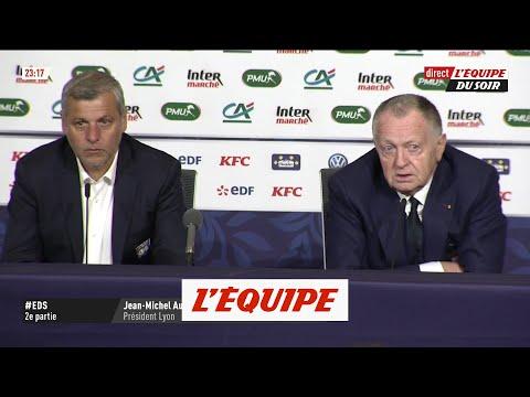 Jean-Michel Aulas « Il y a une grande déception ce soir » - Foot - Coupe