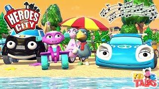 Kids Songs - Cara's Song -  Heroes of the City - Modern Kids Music