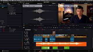 DaVinci Resolve 17 入門講座 #8 効果音の追加と音量の調整(エディットページ)