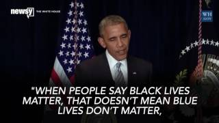 Obama On Alton Sterling, Philando Castile And Why Black Lives Matter