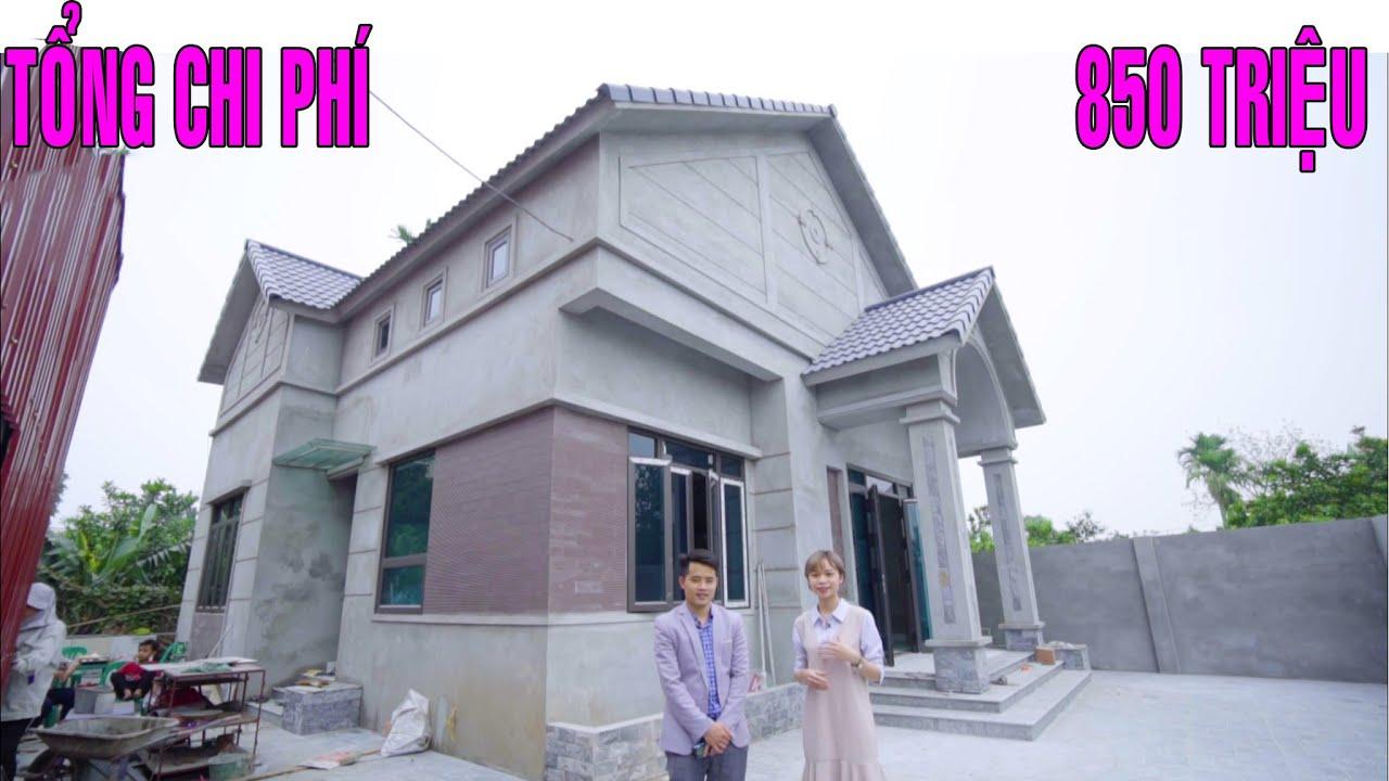 Nhà Cấp 4 Mái Thái Xây Dựng Năm 2019 Tổng Chi Phí 850 Triệu