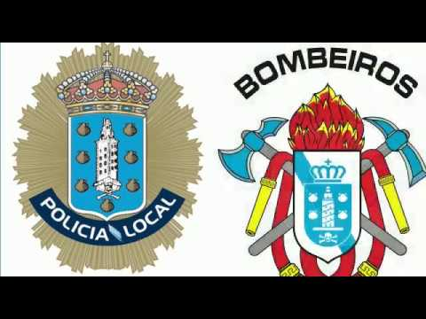 Protección Civil, Bomberos y Policía Local de A Coruña muestran su apoyo ante el COVID-19
