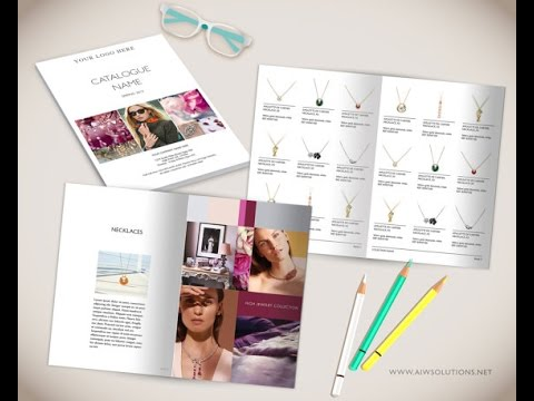 How to create your own Catalog using Photoshop