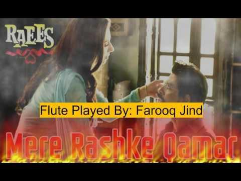 mere rashke qamar flute cover