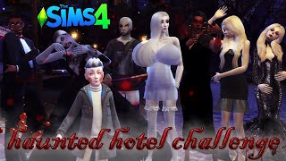 The Sims 4: Haunted Hotel Challenge #1