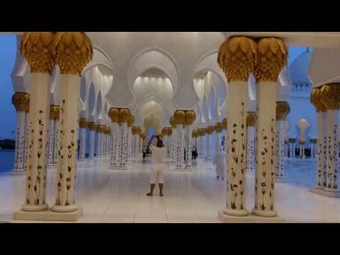 SHEIKH ZAYED GRAND MOSQUE ABU DHABI 2014