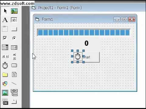 Visual basic 6. 0 tutorials code & project for beginners: starting.