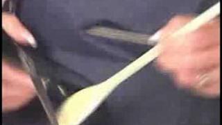Wooden Spoon Crafts : Wooden Spoon Crafts: Garden Glove Hanger