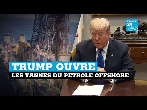 Trump ouvre les vannes du pétrole offshore