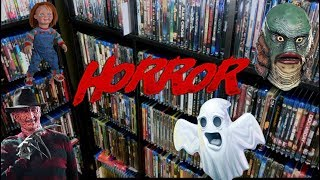 Complete Horror Blu Ray/DVD Collection